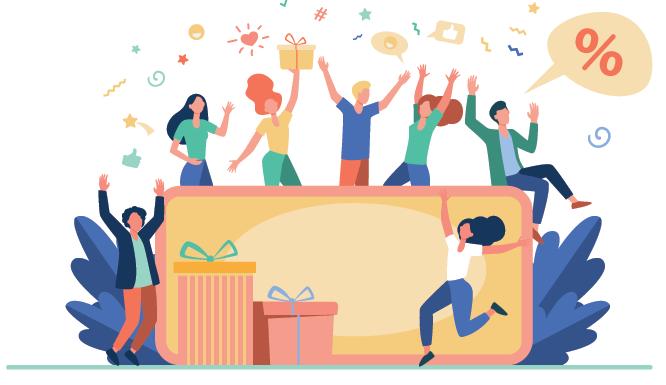 illustration Récompensez vos consommateurs