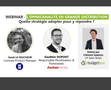 Synthèse Webinar - L'omnicanalité en grande distribution : les conseils de WW et d'Auchan Retail